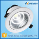 Australian standard adjustable 10w IP40 3.5inch CE ETL SAA RoHS UL approved recessed downlight led cob housing
