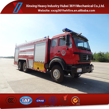 High Quality Euro4 10t Fire Fighting Water Pump Truck