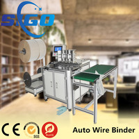 Office Equipment A4 Wire Manual Perfect Binding Machine with independent cutter