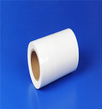 Black and white plastic protective film for window frame