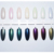 7 Colors Pearl Shell Glitter Powder Glimmer Shimmer Nail Art Dust Pigment Magic Chrome DIY Nail Decorations UV Gel Polish