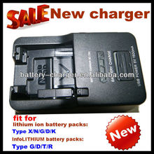 2012 New digital camera charger BC-TRX as travel power charger for most of Sony battery pack