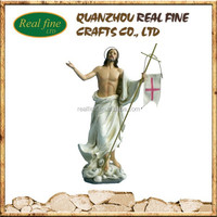 Life Size Jesus Statue, Statues of Saints, Clay Figurines For Home Decoration
