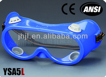 Ventilate PVC lens Blue Frame, Grey Valve Safety Spectacle
