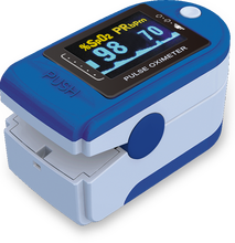 Finger Pulse Oximeter Portable Fingertip Pulse Oximeter , Five Color SpO2