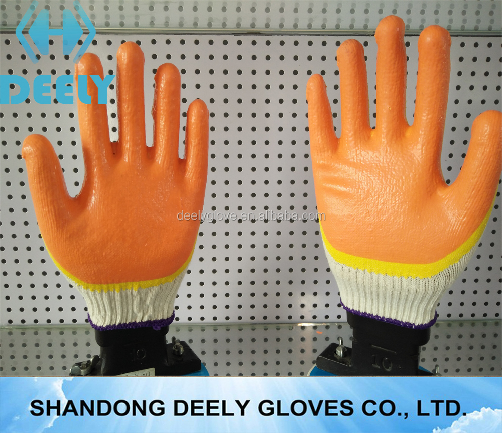 double dipped two color dipped latex glove