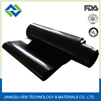 0.24mm thickness black color Popular alkali resistant ptfe sheet
