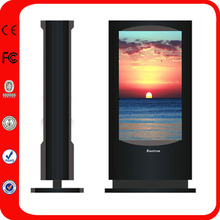 55 Inch Waterproof Interactive Touch Screen Kiosk Totem Lcd Display