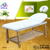 Wood therapeutic massage bed/ thermal jade stone massage bed / beauty salon facial bed 8216