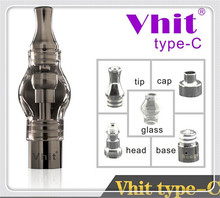 glass dome wax e cigarette smoke vhit wax vaporizer