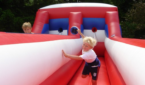 inflatable sports games/inflatable bungee run /bungee run for sale