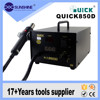 Automatic constant temperature hot air bga smd rework station Quick 850D