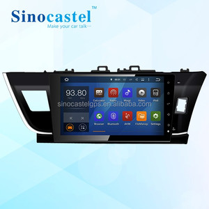 NEW! 10.1 inch Android Car DVD Player with GPS for Toyota Corolla 2016 Right Hand Driving