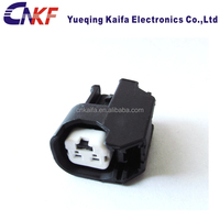 Delphi style Auto 2 pin electric EV6 female injector plug connector housing DJ7026A-2.2-21
