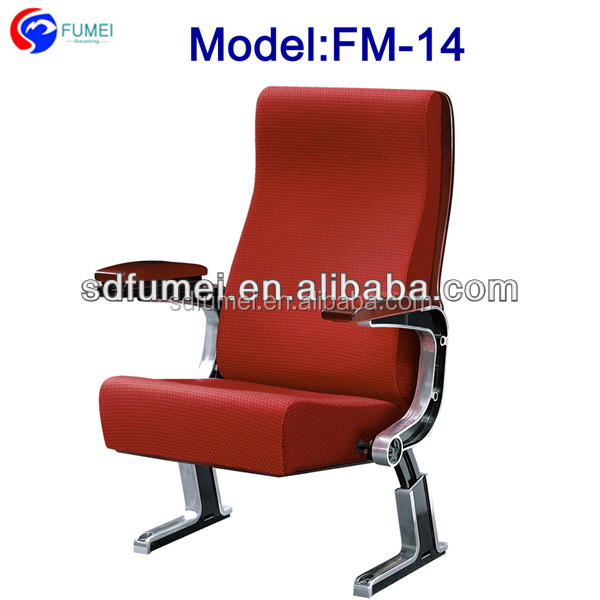 FM-14 Economic fold up church seat with armrests for sale
