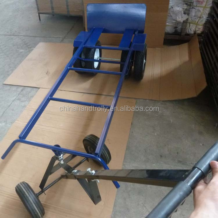 tow/trailer/remorque/tractor dolly hand trolly with 500kgs load capacity
