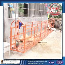ZLP400 hanging outside aluminium alloy cleaning system SGS small lifting platform