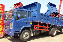 PROMOTION 6m3 Garbage 6 wheel dump truck