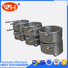 counterflow wort chiller,stainless steel seamless tube,coil heat exchanger