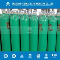 Valve Equipped Compressed Hydrogen Gas Cylinder/ Liquid Hydrogen (H2) Gas Cylinder