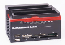 "USB 2.0 Multi-function HDD Docking For 2.5""/3.5""SATA & IDE Hard Disk Drive"