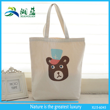 eco friendly cheap cotton reusable shopping bag