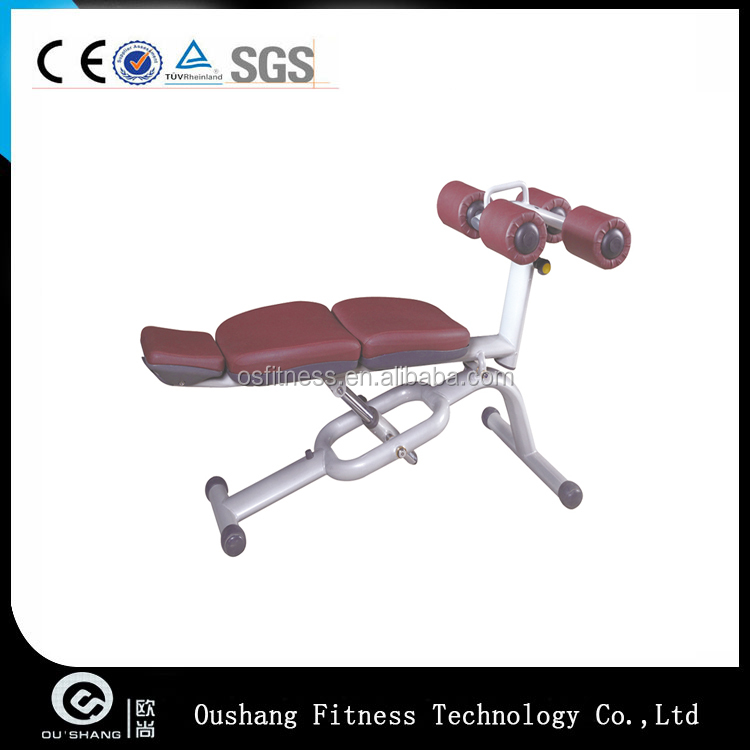 Oushang OS-9029 Adjustable decline Abdominal Bench Machine commercial gym equipment