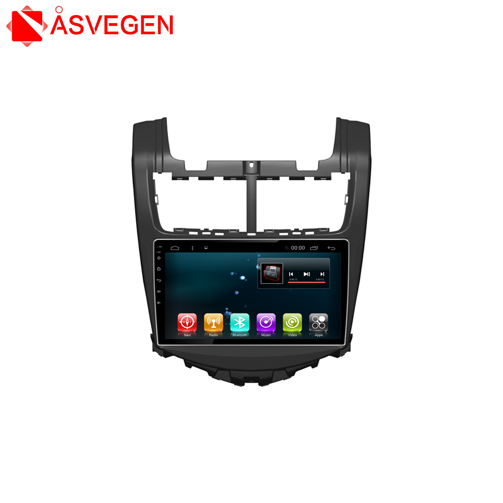 Factory price!! For Chevrolet 2013 AVEO Car Radio Android 6.0 Car GPS 9 INCH car gps tracker with Bluetooth Playstore+OBD