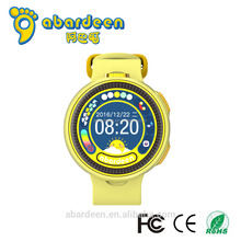 2017 Kids Smart Watch Mobile Phone, Wrist Smart Watch With Gps Sos Sim, Led Touch Screen Watch