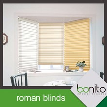 Home Decorative Fabric Imprinted Roman Window Blinds