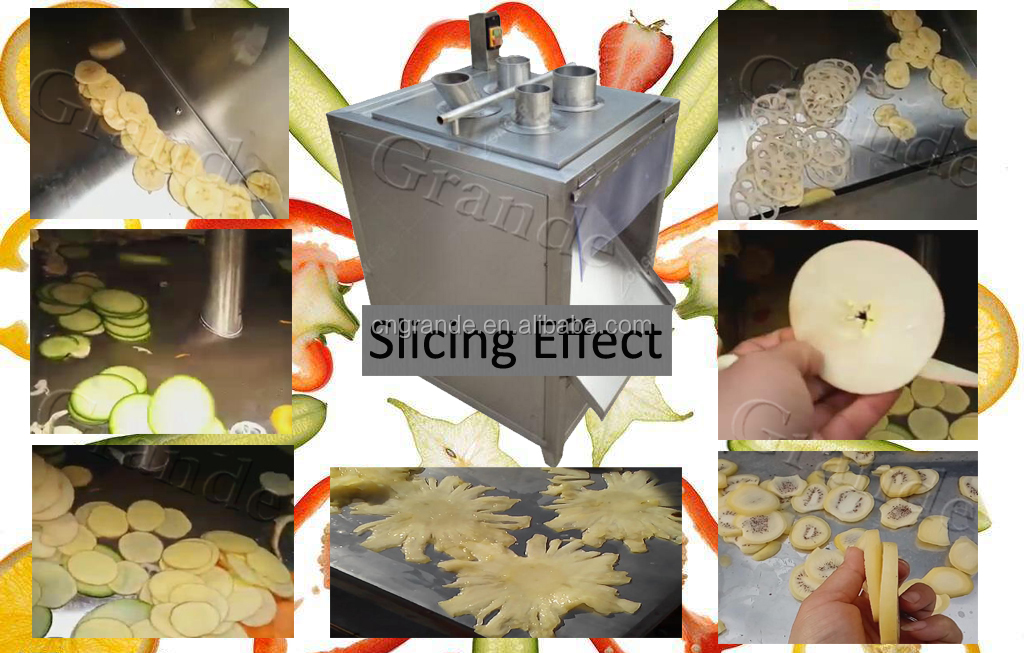 2018 Fruit Slicing Machine Spring Onion Cutting Machine with Factory Direct Price