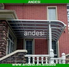 decorative metal roof awning aluminum canopy