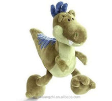 Green Dinosaur Stuffed Animals 35CM soft toy baby dolls toys