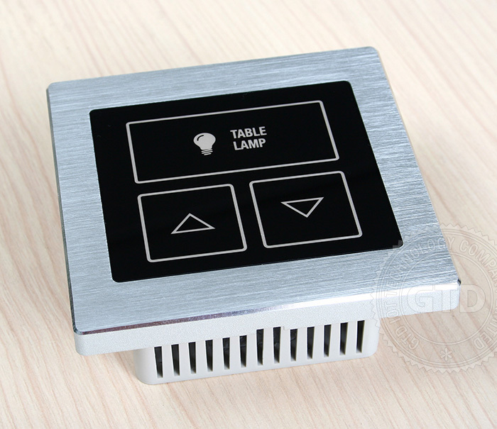 Whole hotel touch switch solution, dimmer, master, curtain control, HDMI, USB, socket etc.