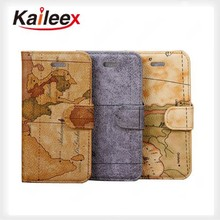 new products on china market leather belt clip flip wallet case for iphone 5 leather case