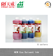 new eco friendly pigment eco solvent ink for piezo printhead prin machine custom print car sticker outdoor banner