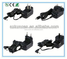 12V 2A AC DC Power Supply Wall Adapter Charger US 2 Flat Pin Prong Plug 100-240V