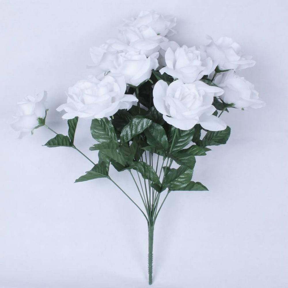 Artificial flower wreath for funeral