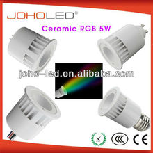 JOHO Brand synchronous&memory function 3w rgb cob spotlight/rgb led spotlight/led light rgb/dmx rgb led downlight/rgb led ball