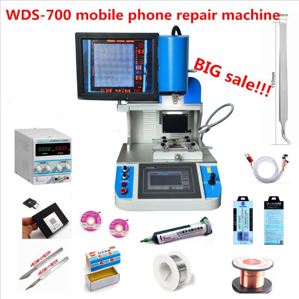 Hard Disk Tools BGA Reballing WDS-700 for Mobile Laptop Computer Motherboard/IC Repair Machine