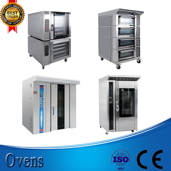32 trays CE ISO rotary ovens for bakery