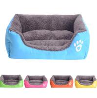 Wholesale indoor heat plush fabric house for dogs