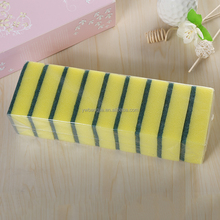 Cleaning Sponge Scourer for kitchen in polybag,colorful kitchen cleaning sponge
