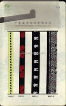 beautiful designed elastic woven webbing,jacquard elastic ,boxing waist band