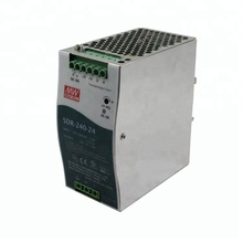 Mean Well 240W Industrial DIN RAIL SMPS 24V 10A Power Supply SDR-240-24