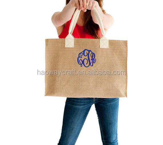 Wholesale blank beach bag monogram beach bags
