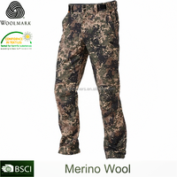Maternity tactical pants ,merino wool camouflage pants men