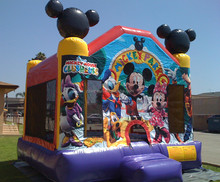new design inflatable jumping castle,happy new year inflatable