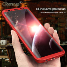 Shockproof Protective Shell Phone Case For Samsung S8 Plus 360 Hard PC Case Cover For Samsung S8 Plus High Quality