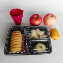 BPA free disposable food grade plastic container